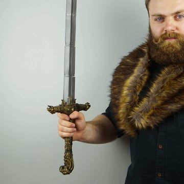 Image of Game of Thrones 3D Models to 3D Print: Oathkeeper Sword