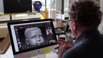 Image of Best 3D Software (3D Modeling Software / 3D Design Software): ZBrush
