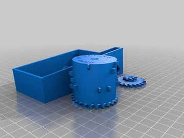 Image of Game of Thrones 3D Models to 3D Print: Opening Theme Parametric Music Box