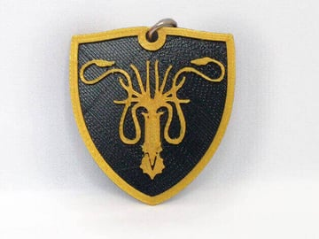 Image of Game of Thrones 3D Models to 3D Print: Greyjoy Keychain