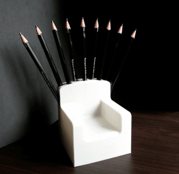 Image of Game of Thrones 3D Models to 3D Print: Game of Pencils Throne