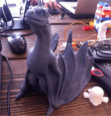 Image of Game of Thrones 3D Models to 3D Print: Drogon