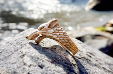 Image of Game of Thrones 3D Models to 3D Print: House Stark Ring