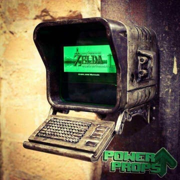 Image of Fallout Props & Toys to 3D Print: Wall Mounted Terminal Replica