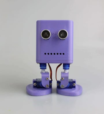 Image of 3D Printed Robot: Bob the Biped
