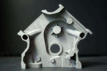 Image of 3D-Drucker-Material: Aluminum