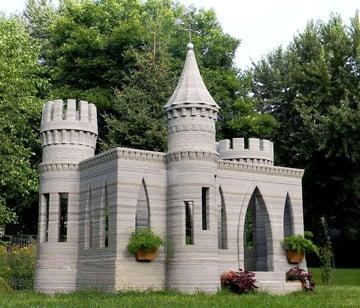 Image de Bâtiment / Structure / Maison imprimée en 3D: Le premier château imprimé en 3D