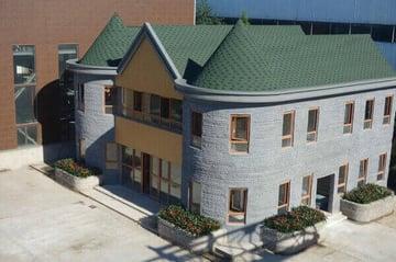 Image de Bâtiment / Structure / Maison imprimée en 3D: Villa en Chine
