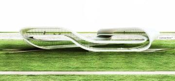 Image de Bâtiment / Structure / Maison imprimée en 3D: «Infinite» Landscape House
