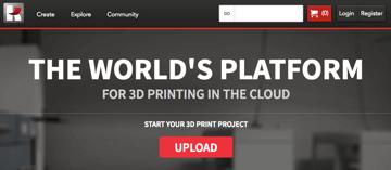 Image of Online-3D-Druck-Service-Dienstleister: Kraftwurx