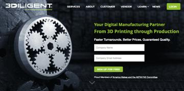 Imagen de Servicio de impresión 3D online: 3Diligent