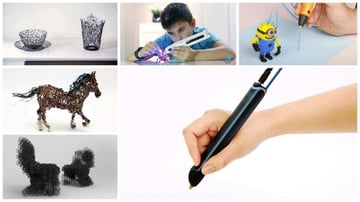 Image of 3D Printed Toys – 11 Ideas for Children of all Ages: DrawSomething With a3D Pen