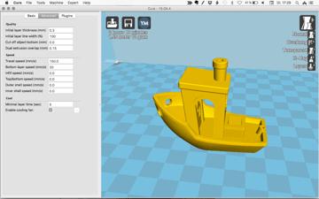Imagen de Slicer 3D/Programma de corte para impresoras 3D: Cura