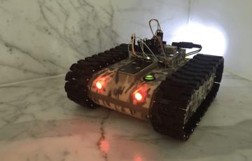 Image de Meilleur projet Raspberry Pi à imprimer en 3D: Robot char d'assaut