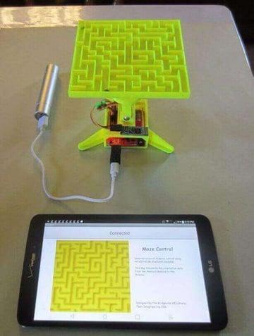 Image of Die besten Arduino-Projekte für deinen 3D-Drucker: Labyrinth