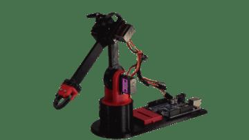 Image of Die besten Arduino-Projekte für deinen 3D-Drucker: LittleArm: 3D-gedruckter Roboterarm
