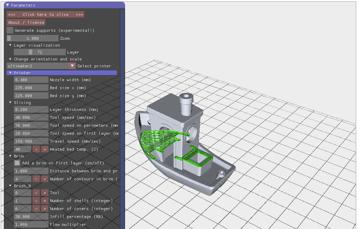 Imagen de Slicer 3D/Programma de corte para impresoras 3D: SliceCrafter