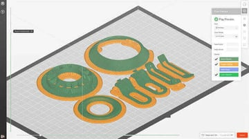 Imagen de Slicer 3D/Programma de corte para impresoras 3D: MakerBot Print