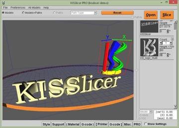 Image of Best 3D Printer Slicer Software: KISSlicer