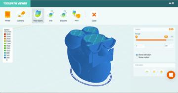 Imagen de Slicer 3D/Programma de corte para impresoras 3D: 3DPrinterOS