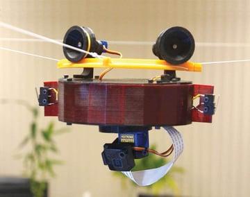 Image de Meilleur projet Raspberry Pi à imprimer en 3D: Skycam