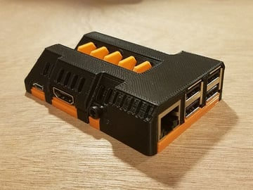 Image of Custom Raspberry Pi Case to 3D Print: TurboPi