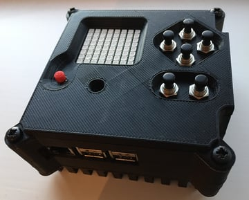 Image of Custom Raspberry Pi Case to 3D Print: Astro Pi Flight Case