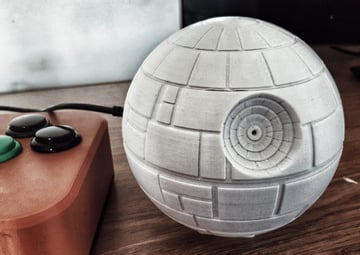 Image of Custom Raspberry Pi Case to 3D Print: Star Wars Death Star
