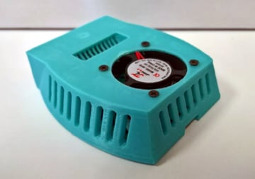 Image of Custom Raspberry Pi Case to 3D Print: My Fav Pi