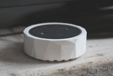 Image of The Best Echo Dot Accessories to 3D Print: Low Poly Cover