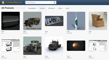 Imagen de Modelos 3D gratuitos: TurboSquid