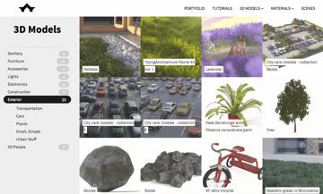 Imagen de Modelos 3D gratuitos: FlyingArchitecture