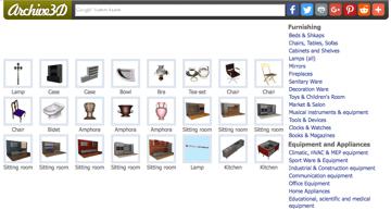 Imagem de Melhores sites para baixar modelos 3D gratuitos: Archive 3D