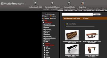 Imagem de Melhores sites para baixar modelos 3D gratuitos: 3DModelFree
