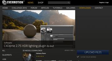 Imagem de Melhores sites para baixar modelos 3D gratuitos: Evermotion
