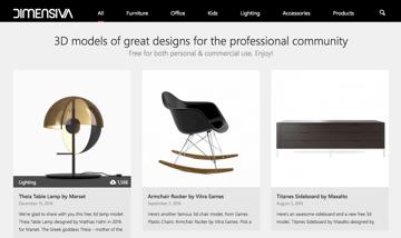 Imagem de Melhores sites para baixar modelos 3D gratuitos: Dimensiva