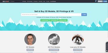 Imagem de Melhores sites para baixar modelos 3D gratuitos: 3DExport