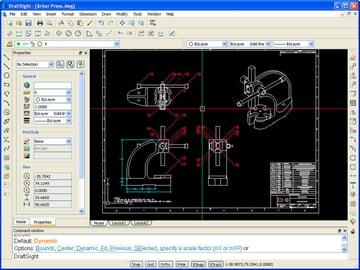 Image of Die 19 besten CAD-Programme (Professionelle CAD-Software): DraftSight