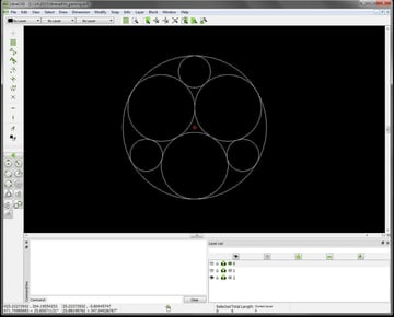 Image of Best Free CAD Software (2D/3D CAD Programs): LibreCAD