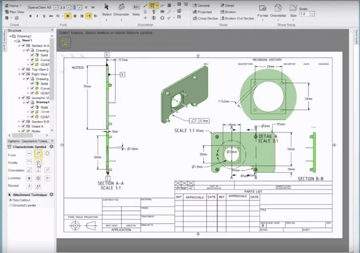 Image of Best Free CAD Software (2D/3D CAD Programs): DesignSpark