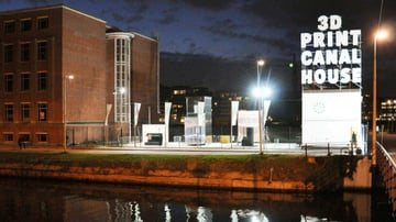 Image de Bâtiment / Structure / Maison imprimée en 3D: Canal House