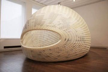 Image de Bâtiment / Structure / Maison imprimée en 3D: Projet EGG