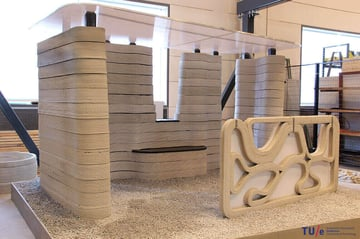 Image de Bâtiment / Structure / Maison imprimée en 3D: Pavillon de l'université technique d'Eindhoven