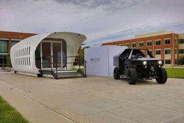 Image de Bâtiment / Structure / Maison imprimée en 3D: Projet pilote AMIE