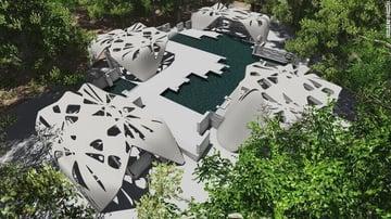 Image de Bâtiment / Structure / Maison imprimée en 3D: Maison au nord de l'État de NewYork