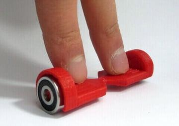 Image of Great DIY Fidget Toys & Fidget Spinner Alternatives: Finger Hoverboard