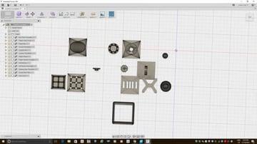 Image of Great DIY Fidget Toys & Fidget Spinner Alternatives: Fully 3D Printed Fidget Cube