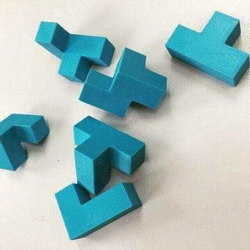 Image of Great DIY Fidget Toys & Fidget Spinner Alternatives: Coffin's Half Hour Cube