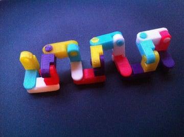Image of Great DIY Fidget Toys & Fidget Spinner Alternatives: Toy Chain