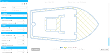 Imagen de Slicer 3D/Programma de corte para impresoras 3D: SelfCAD